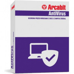 ArcaVir dla Urzędów Gmin i Miast, Starostwa 50 PC + Serwer 1 ROK