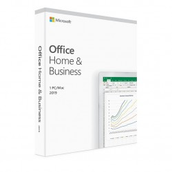 1 x MS Office 2019 dla Małych Firm i Użytkowników Domowych BOX PL dożywotnia - cena tylko na system MS Windows 10 nie na Mac