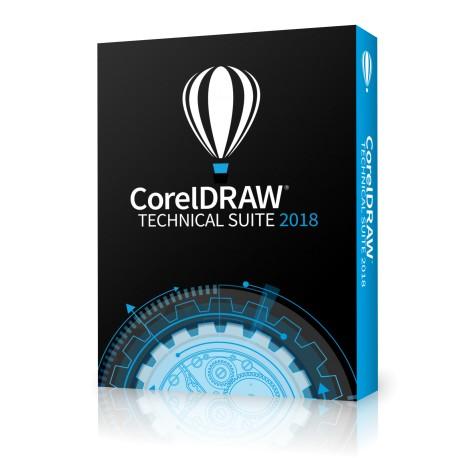 CorelDRAW Technical Suite 2018 Classroom licencja dożywotnia 15+1 na 16 komputerów dla Szkół po polsku 2019