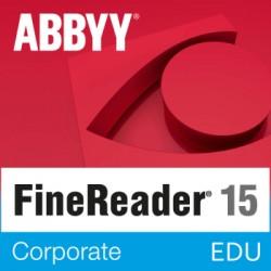 ABBYY FineReader 15 Corporate dla Szkół i Edukacji - licencja dożywotnia - pojedynczy użytkownik PL cena na Mac OS i Windows