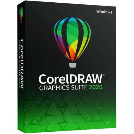 5 x CorelDRAW Graphics Suite 2020 PL dla Szkół, Przedszkoli, Biblioteki licencja na 5 PC - sklep 2019 licencja dożywotnia 2021