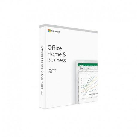 Microsoft Office Home & Business 2019 BOX PL - licencja dożywotnia - cena na Mac OS lub na MS Windows 10 sklep