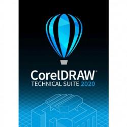 CorelDRAW Technical Suite 2020 Classroom licencja dożywotnia 15+1 na 16 komputerów dla Szkół po polsku 2021